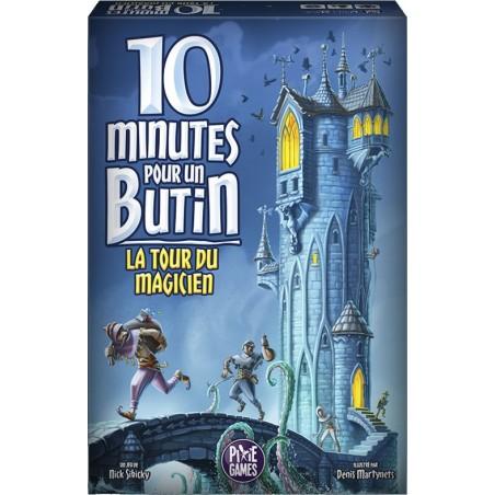 10 Minutes pour un butin La tour du magicien un jeu Pixie Games