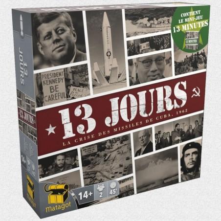 13 jours + 13 minutes un jeu Matagot