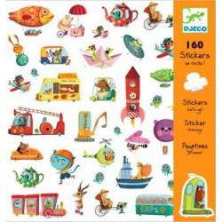 160 stickers - En route ! un jeu
