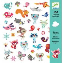 160 stickers - Petits amis un jeu Djeco