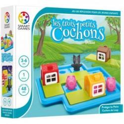 Les Trois Petits Cochons Deluxe un jeu Smart Games