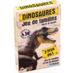 jeu des 7 familles Dinosaures un jeu France Cartes