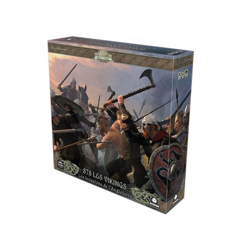 878 Les Vikings : les invasions de l'Angleterre un jeu Asyncron games