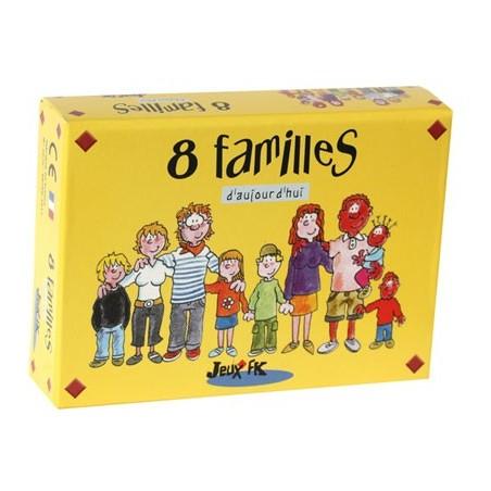 8 familles d'aujourd'hui un jeu Jeux FK