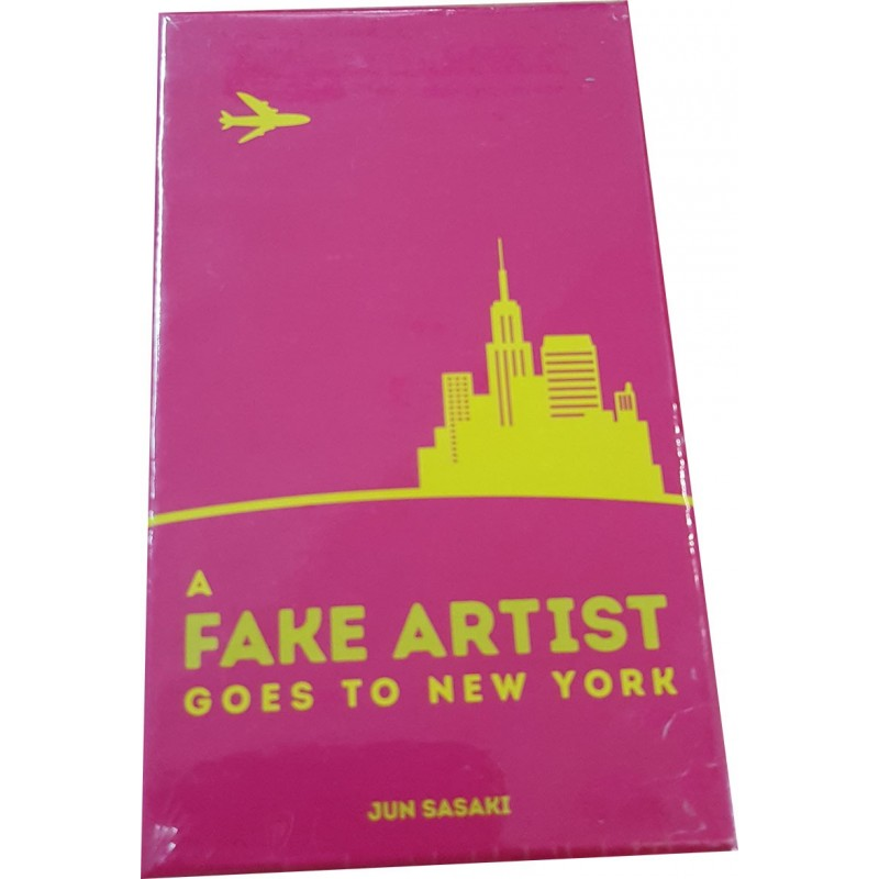 A fake artist goes to New York - Version francaise un jeu Pixie Games