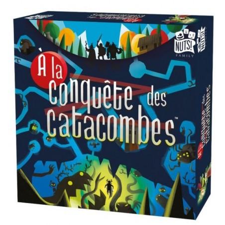 A la conquête des catacombes un jeu Nuts Publishing