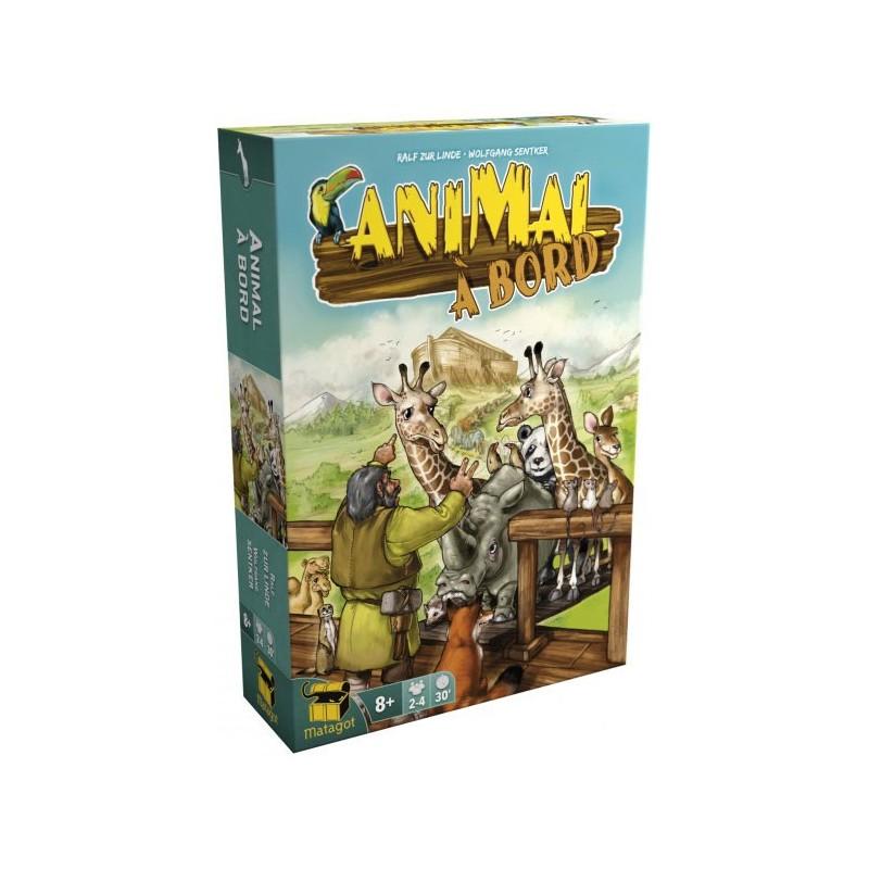Animal à bord un jeu Matagot