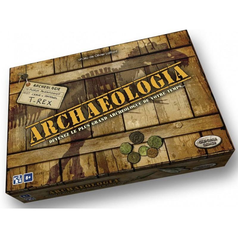Archaeologia un jeu Old Casa Games