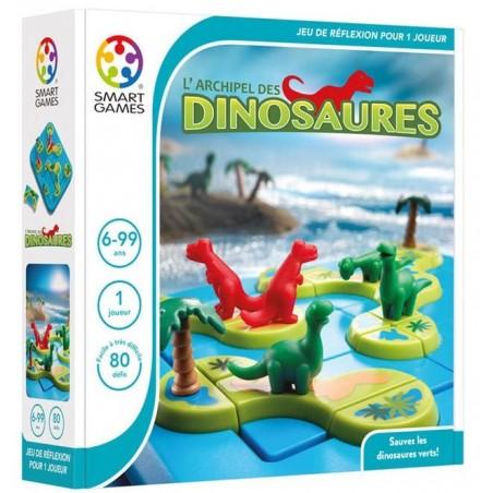 L'archipel des dinosaures un jeu Smart Games