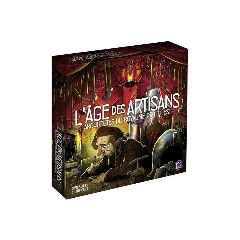 Architectes du royaume de l'Ouest - Extension l'âge des artisans un jeu Pixie Games