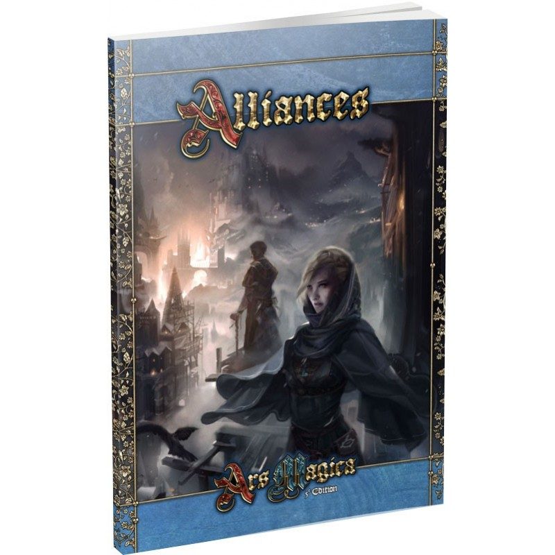 Ars Magica - Alliances un jeu Atlas games