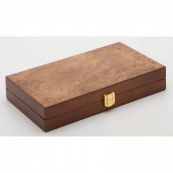 Backgammon bois d'Orme 25cm un jeu Loisirs Nouveaux