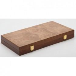 Backgammon bois d'Orme 38cm un jeu Loisirs Nouveaux