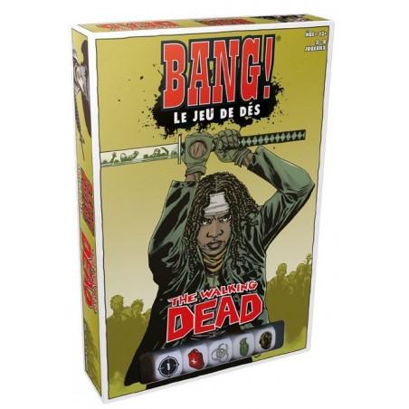 Bang Le jeu de dés - The Walking Dead un jeu Asmodee