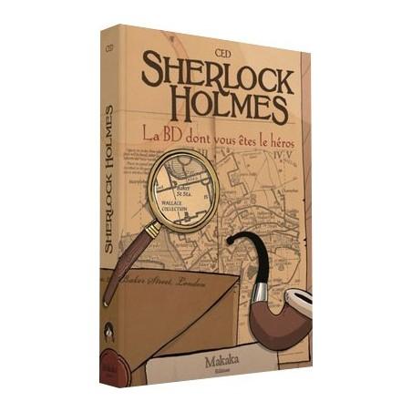 Sherlock holmes - La BD dont vous êtes le héros. un jeu Makaka Editions