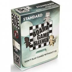 Protège-cartes Antireflet Standard (63x88) un jeu Arcane Tinmen