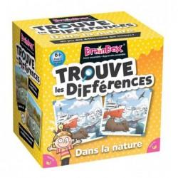 BrainBox - Trouve les Différences - Dans la Nature un jeu The green Board Game co