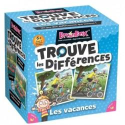 BrainBox - Trouve les Différences - Vacances un jeu The green Board Game co