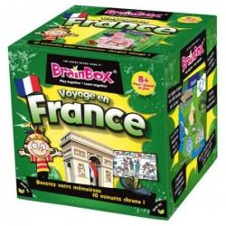 BrainBox Voyage en France un jeu The green Board Game co