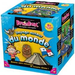 BrainBox Voyage autour du monde un jeu The green Board Game co