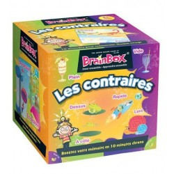 Brainsbox - Les contraires un jeu The green Board Game co