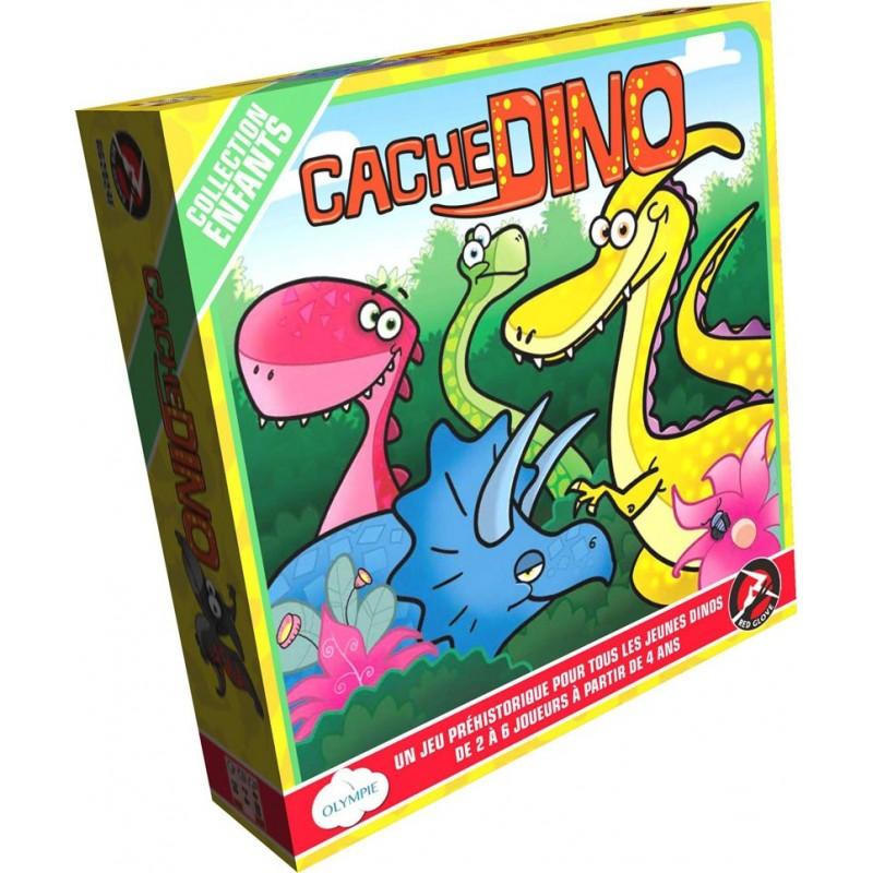 Cache cache Dino un jeu Olympie