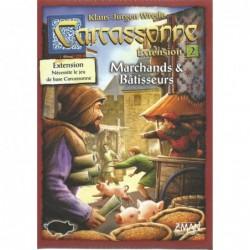 Carcassonne : marchands & bâtisseurs un jeu Z-Man Games