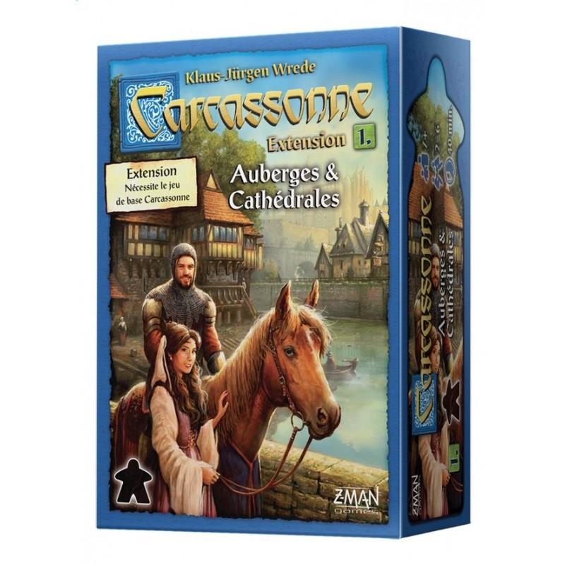 Carcassonne : Auberges et cathédrales un jeu Z-Man Games