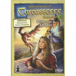 Carcassonne : Princesse & Dragon un jeu Z-Man Games