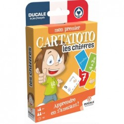 CARTATOTO Les chiffres un jeu France Cartes