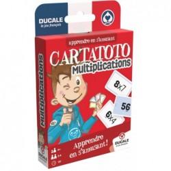 CARTATOTO Les multiplications un jeu France Cartes