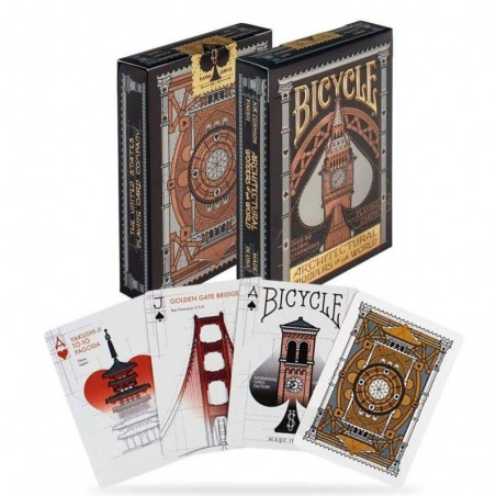 Bicycle Architectural Wonders of the world un jeu Bicycle