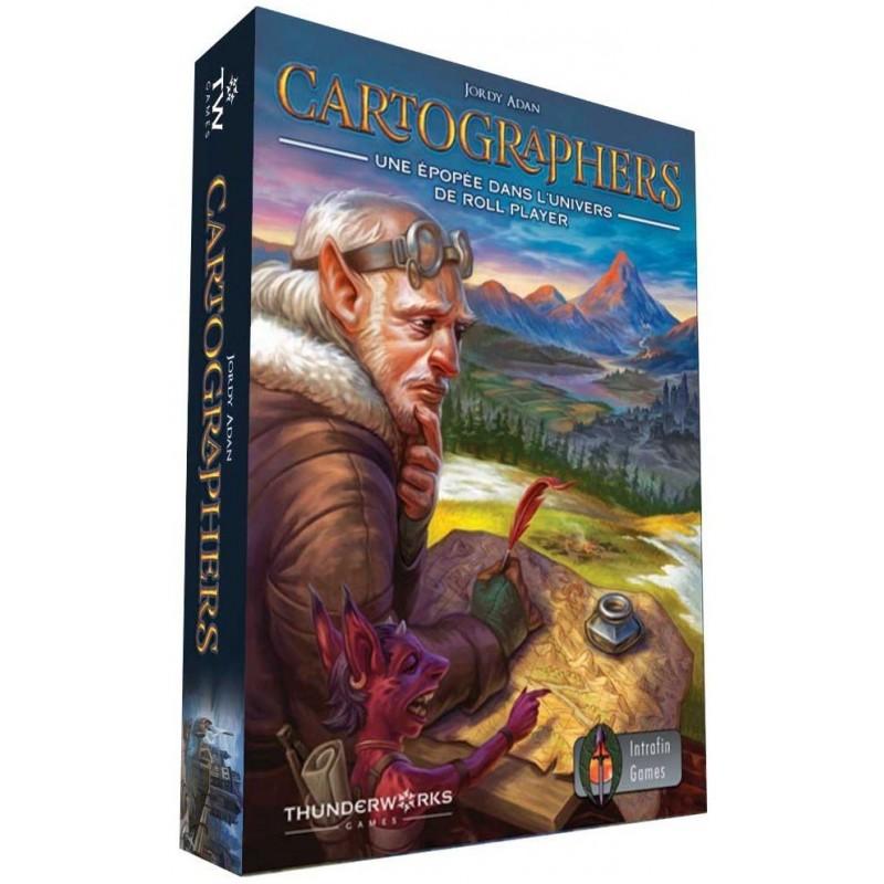 Cartographers un jeu Intrafin Games