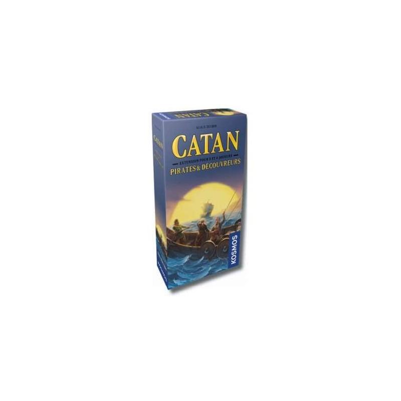 Catan - Pirates & découvreurs 5/6 joueurs un jeu Kosmos