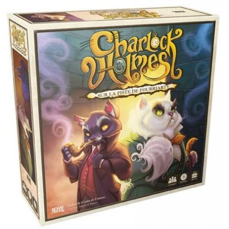 Charlock Holmes un jeu IDW Games