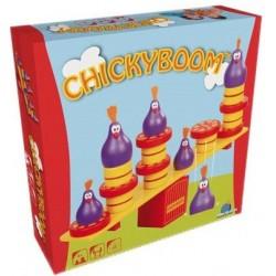 Chickyboom un jeu Blue orange