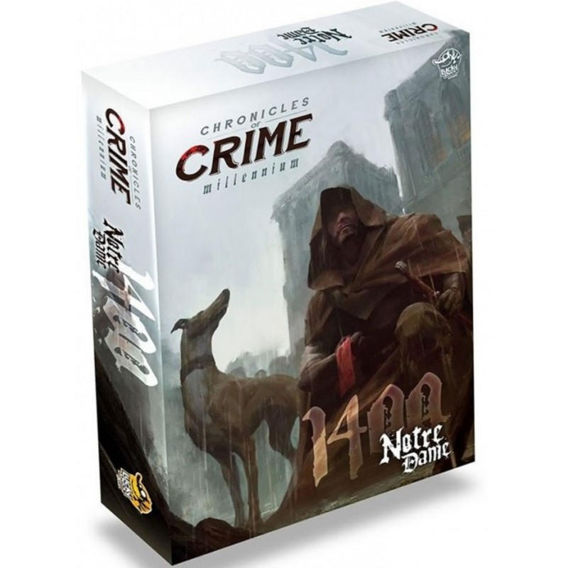 Chronicles of Crime Série Millénaire - 1400 un jeu Lucky Duck Games