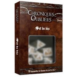 Chroniques Oubliées - Set de dés un jeu Black Book