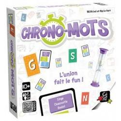 Chrono-mots un jeu Gigamic