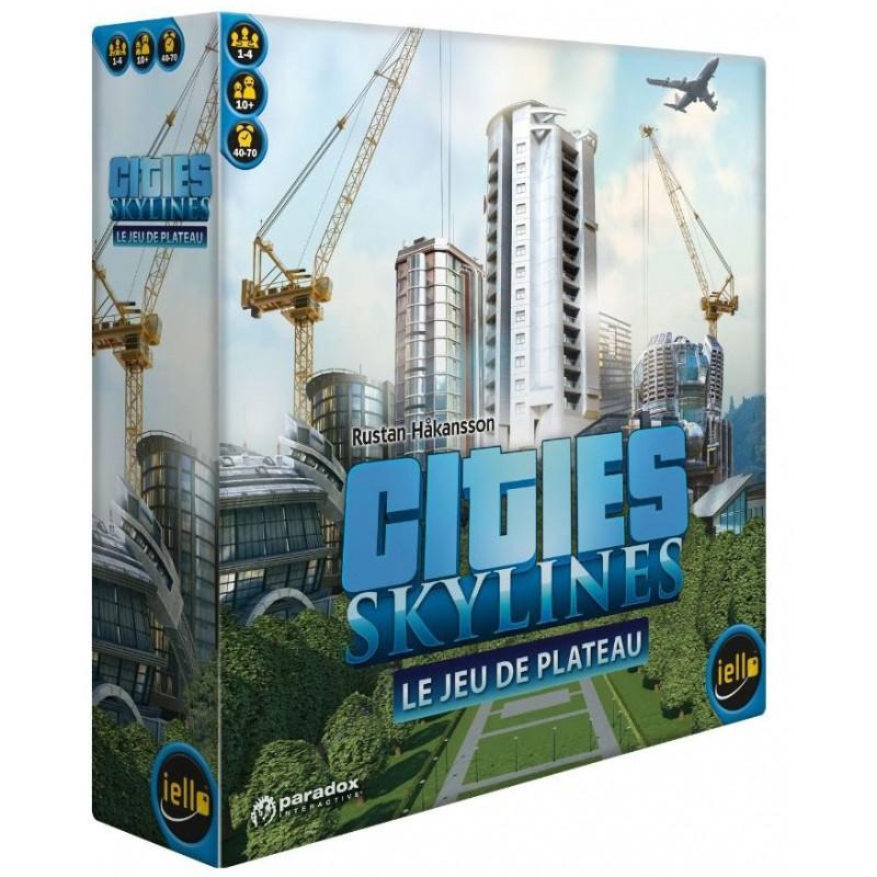 Cities Skylines un jeu Iello