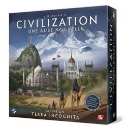 Civilization Aube Nouvelle : Extension Terra Incognita un jeu FFG France / Edge