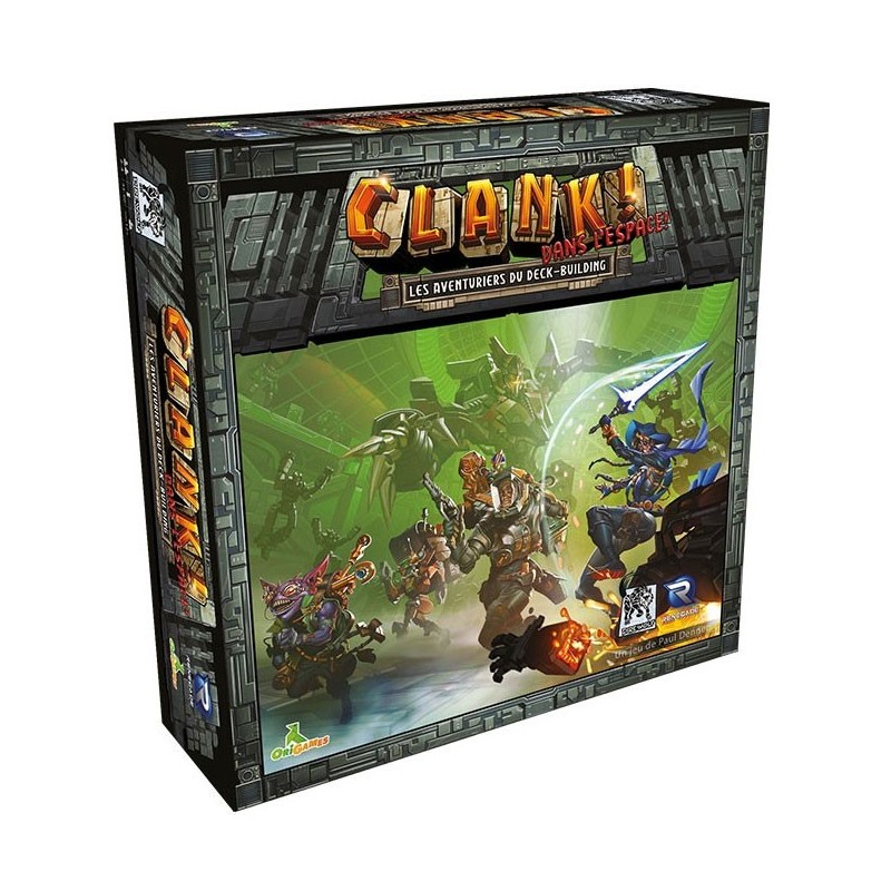 Clank dans l'espace un jeu Renegade Game Studio