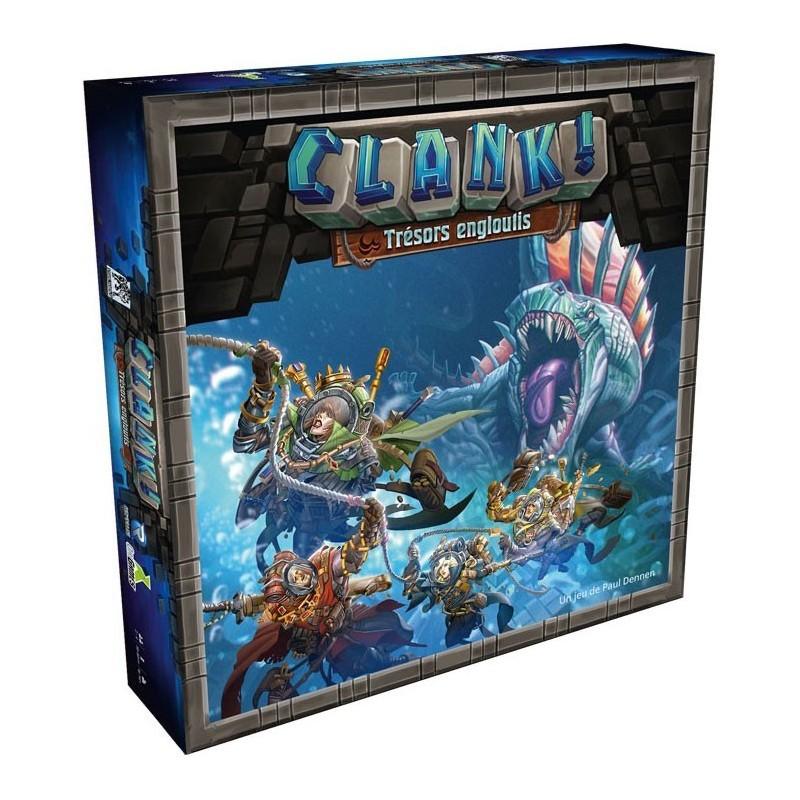 Clank ! - Trésors Engloutis un jeu Renegade Game Studio