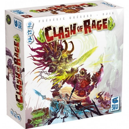 Clash of Rage un jeu La boîte de jeu