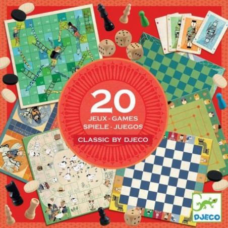 Classic Box 20 jeux un jeu Djeco
