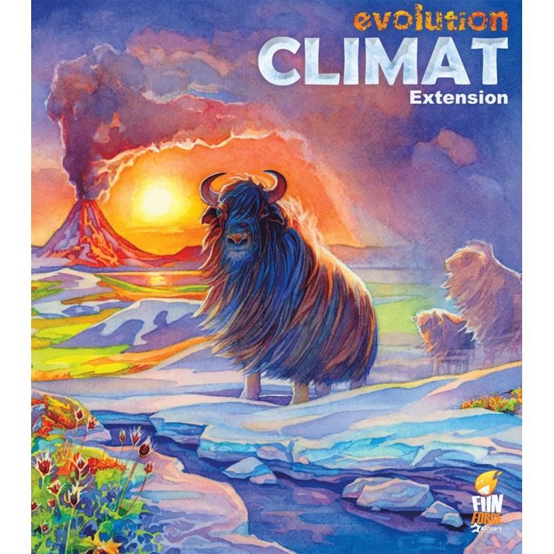 Evolution - Extension Climat un jeu Funforge