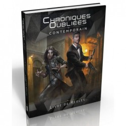 Chroniques Oubliées Contemporain - Livre de base un jeu Black Book