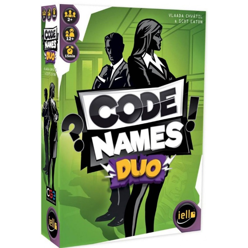 Codenames duo un jeu Iello