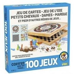 Coffret 100 jeux un jeu France Cartes