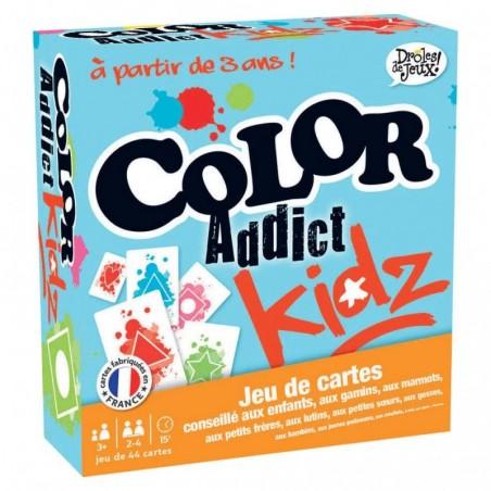 Color addict Kidz un jeu France Cartes